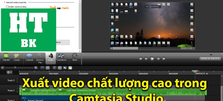 Xuat video chat luong cao voi Catasia